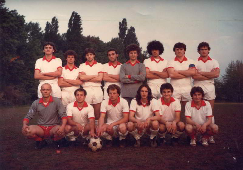 Mantovana 2^classificata Juniores 1981/82