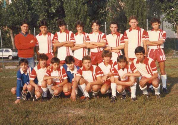 Mantovana Junior 2^ classificata Giovanissimi 1984/85