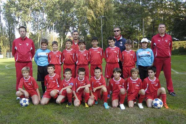 Mantovana Junior 2^classificata Ragazzi 2012/13